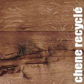 """Parquet Chêne ancien recyclé - 17 x 215 mm - doublement fumé et huilé """"naturel"""""""