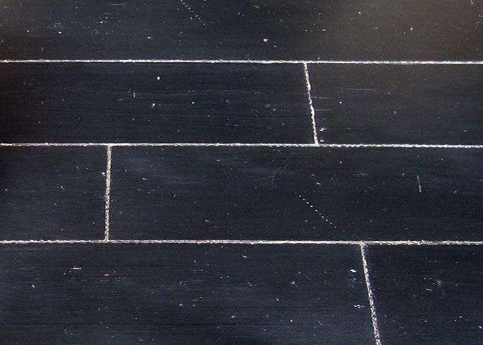 Parquet contrecollé en chêne peint - 15 x 190 x 1900 mm - noir