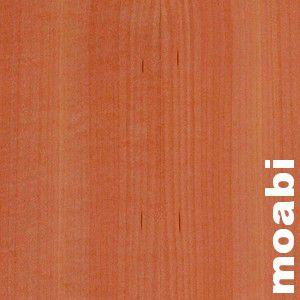 Parquet Massif Moabi - 14 x 90 mm - brut