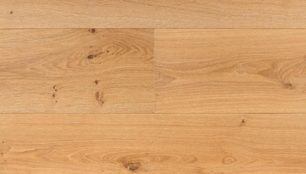 Parquet Contrecollé Chêne Rustique - 12 x 90 mm - Brossé - verni mat - PROMO