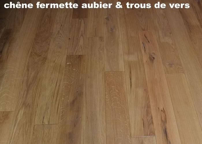 Parquet Massif Chêne Fermette - 20 x 130 mm - Huilé incolore - PROMO