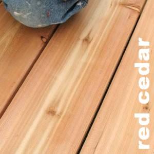 Terrasses Et Caillebotis En Western Red Cedar Pin Cedre Rouge