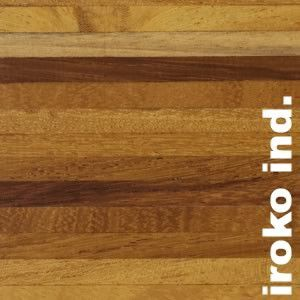 Parquet Industriel Iroko - 14 x 10 x 300 mm sur chants