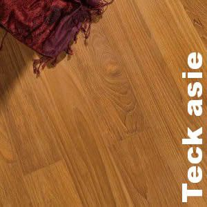 parquet massif teck asie 12 x 110 mm verni promo. Black Bedroom Furniture Sets. Home Design Ideas