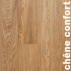 Parquet contrecollé Chene Confort - 12 x 145 mm - Verni incolore - Dijon