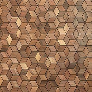 Panneau mural - Mosaiques 3D - Prag
