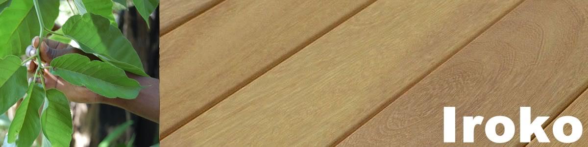 lame de terrasse en iroko
