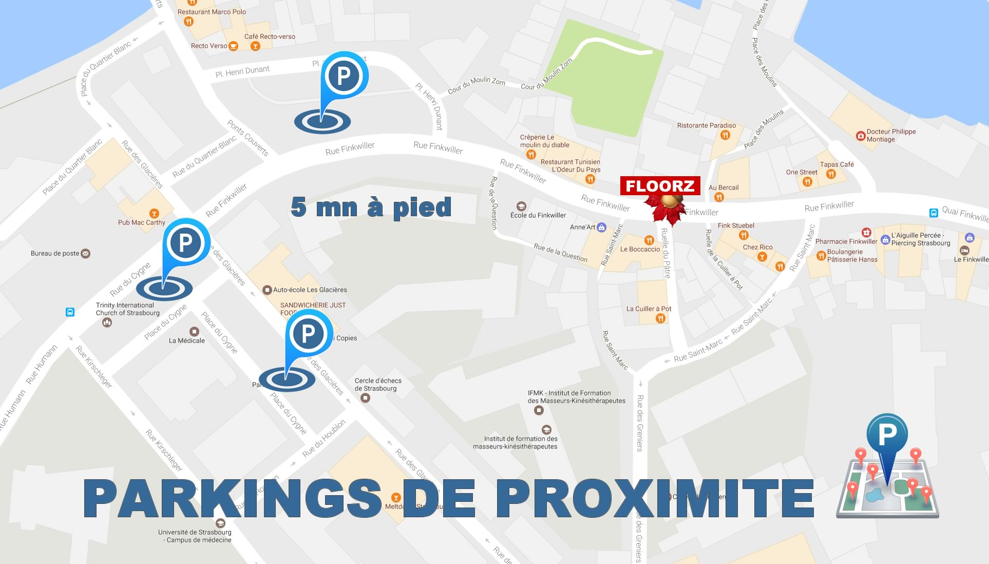 parking prixomite floorz
